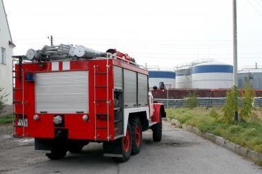 Vilniaus rajone sudegė ūkinis pastatas