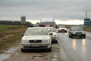Klaipėdos apskrities policininkams įkliuvo 71 pažeidėjas
