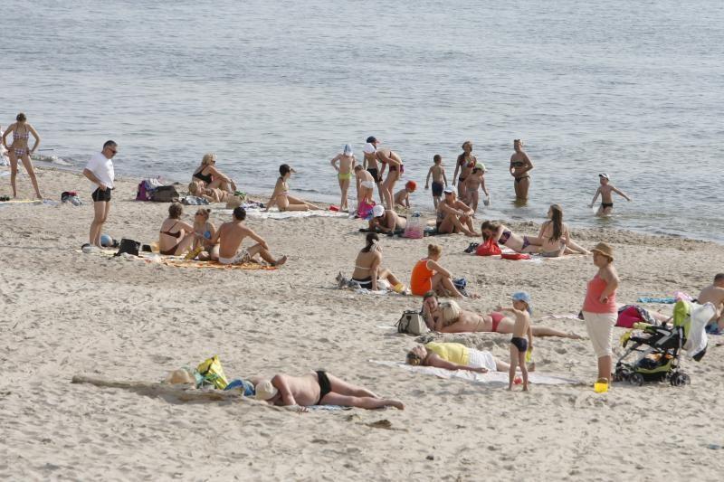 Mama Klaipėdos pliaže pasigedo dviejų dukrų