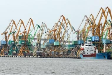 Baltijos šalių uostai gali konkuruoti su Rusijos