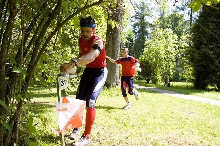 Pervalkoje - stacionarios orientavimosi sporto trasos
