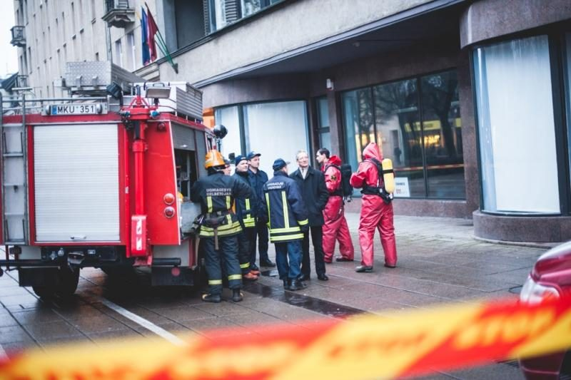 Dėl neaiškių dujų evakuoti VDU studentai ir dėstytojai