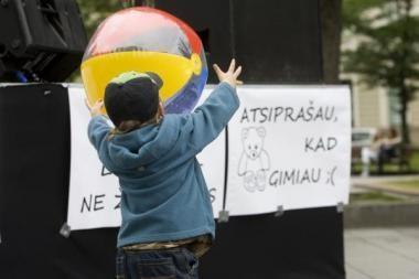 Socialinės atskirties spąstuose – 6 proc. Lietuvos vaikų