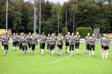 Lietuvos futbolo rinktinė nežais draugiškų rungtynių su Saudo Arabija