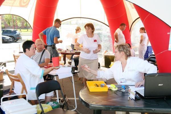 Klaipėdiečių donorų akcijoje - daug naujokų