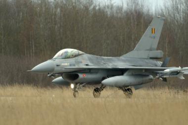 JAV pritaria NATO oro policijos misijai Baltijos šalyse (papildyta)