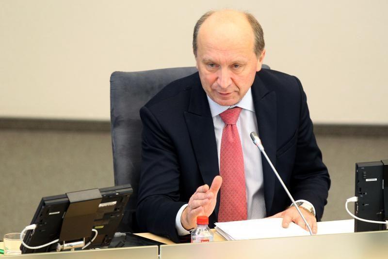 Premjeras siūlys  atšaukti įsakymą dėl V.Gailiaus atleidimo
