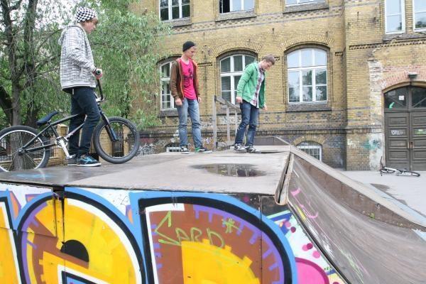 Dėl vienintelio Klaipėdoje skeitparko – paauglių skundai