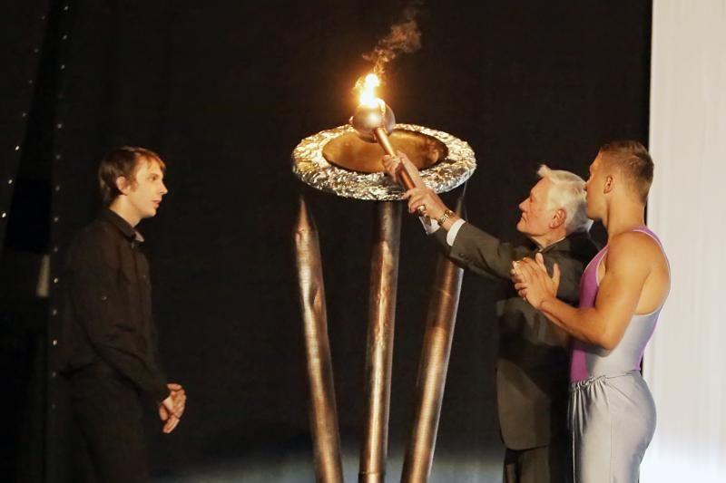 Pasaulio lietuvius subūrė Klaipėda (žaidynių ugnį įžiebė V. Adamkus)