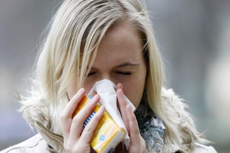 Šaltis uostamiestyje didina sergančiųjų gretas