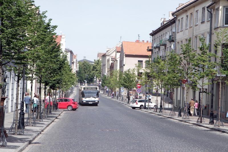 Dalis Tiltų gatvės atiteks dviratininkams
