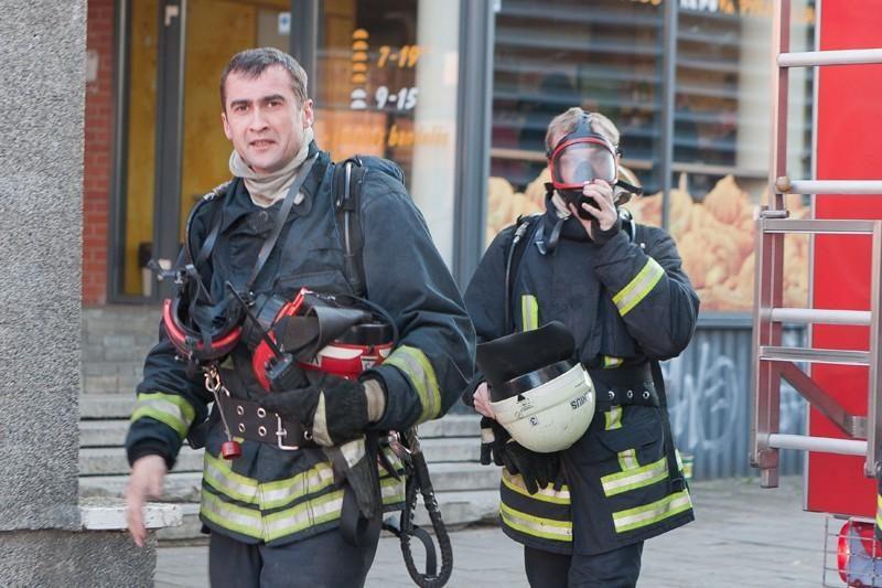 Per gaisrą Vilniuje dūmuose paskendo du restoranai