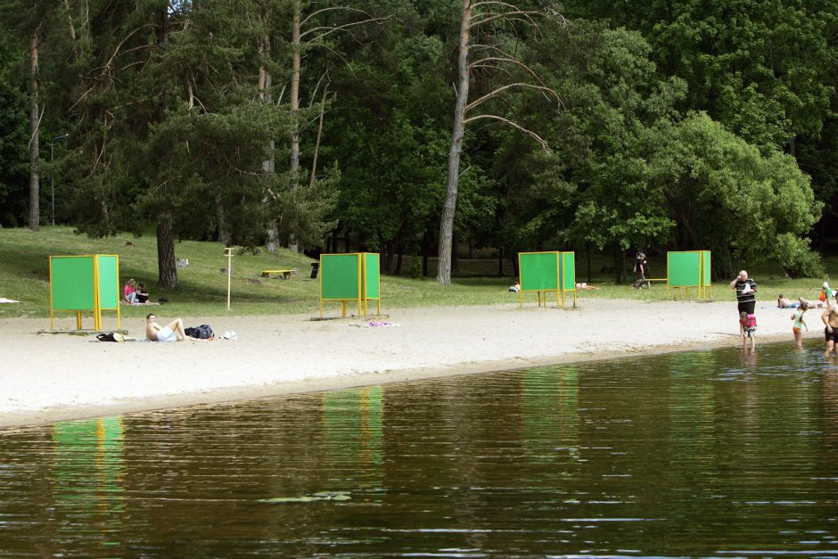Vasara prasidėjo, o Kauno paplūdimiai – pustuščiai