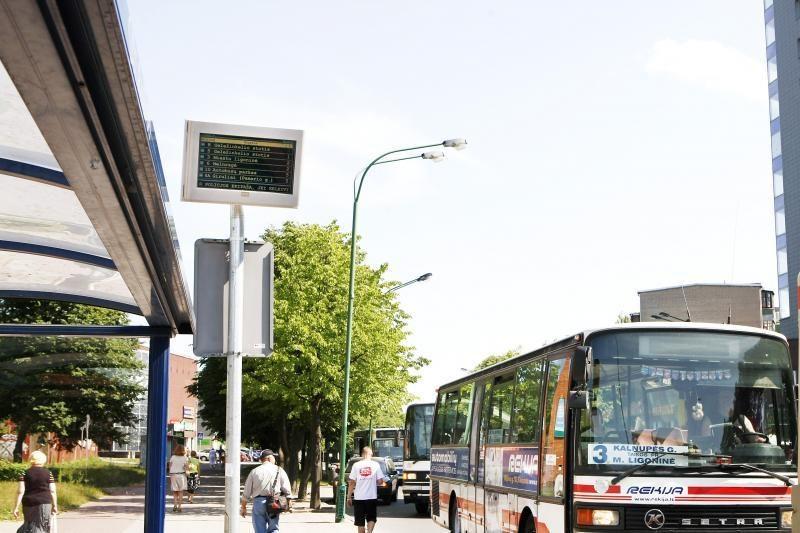 Per čempionatą autobusai Klaipėdoje važiuos ir naktį
