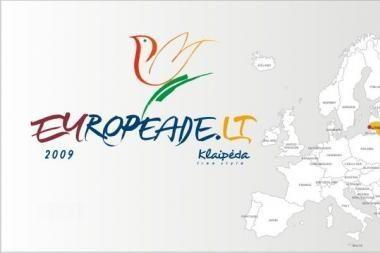 """Bus  paskelbti """"Europiados"""" Klaipėdoje dalyviai"""