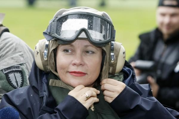 Sprogimas Gore nepakeis ministrės vizito Afganistane darbotvarkės