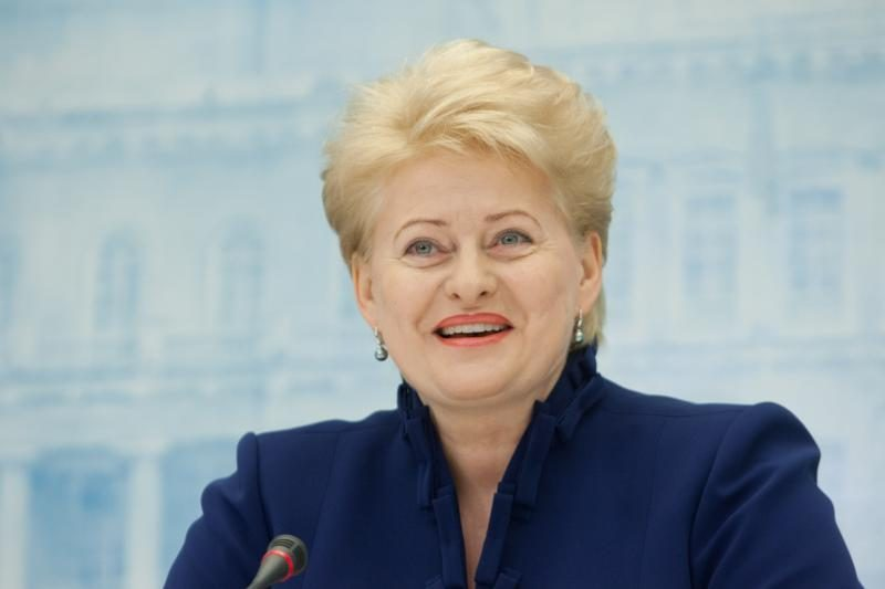 D.Grybauskaitė ragino moksleivius nepamiršti Lietuvos
