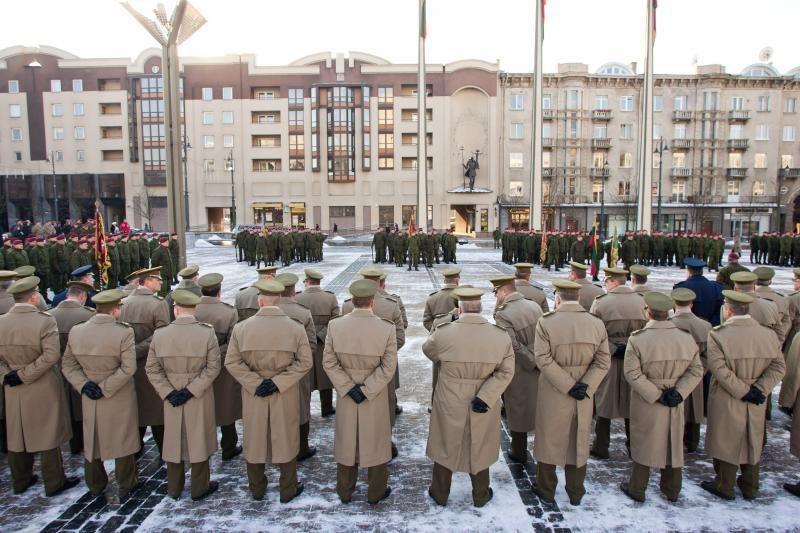 V.Tamošaičiui suteiktas brigados generolo laipsnis