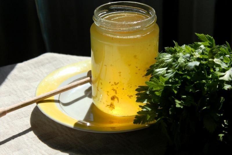 Originaliausias rudens gėrybių receptas – petražolių medus