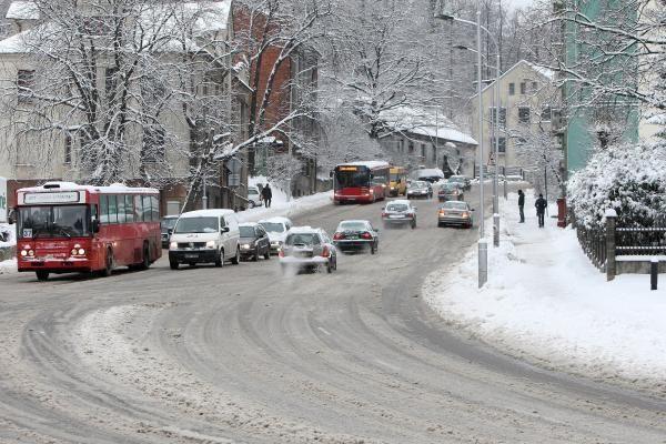 Orai Kaune: sniegas trumpam aprims, bus šalčiau
