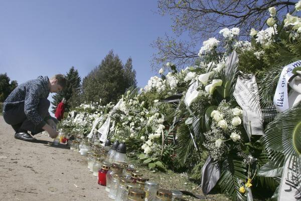 D.Kedžio kapas daugeliui tapo kovotojo simboliu