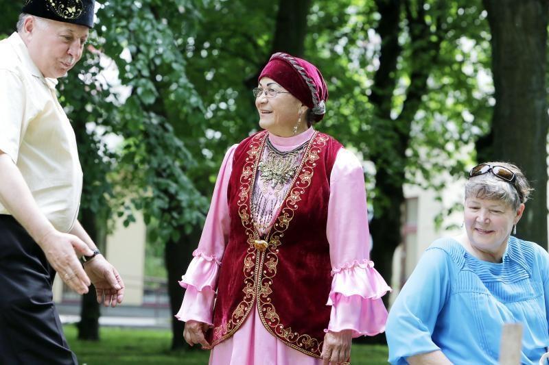 Klaipėdos   totoriai    šventė   Sabantujų