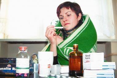 Gripu susirgo trys klaipėdiečiai