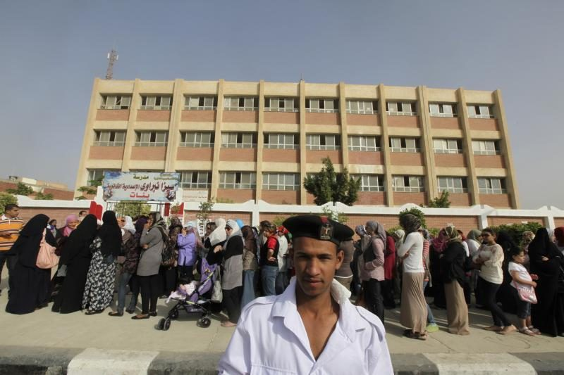 Egipte prasidėjo balsavimas istoriniuose prezidento rinkimuose