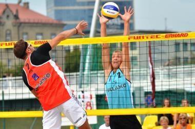 Vilniuje vyks Rytų Europos paplūdimio tinklinio čempionatas
