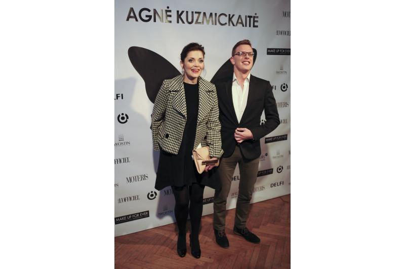 A.Kuzmickaitė surengė pirmą asmeninį kolekcijos pristatymą