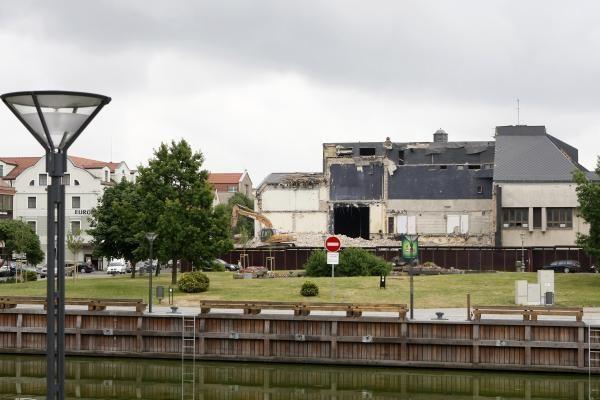 Dramos teatro rekonstrukcija: nugriauta trečdalis pastato