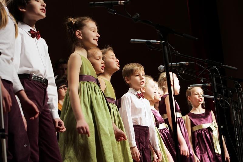 """Choras """"Aukuras"""" klaipėdiečiams dovanojo koncertą"""