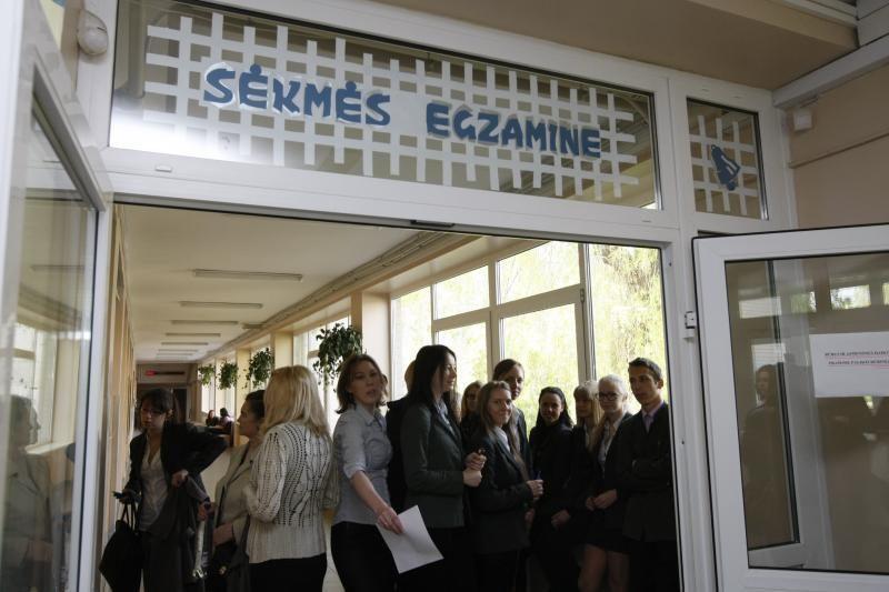 Viceministras: nuo 2015 metų dešimtokai laikys daugiau egzaminų