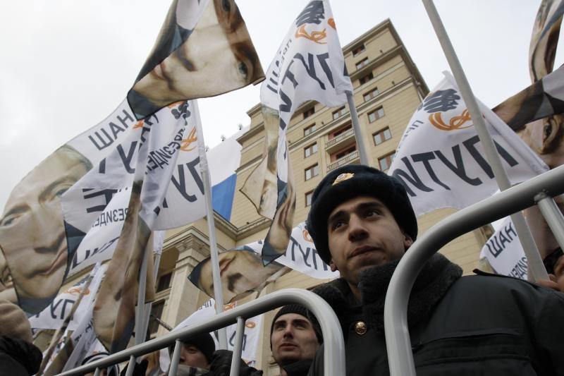 Protestų prieš V.Putiną lyderiai stos prieš teismą