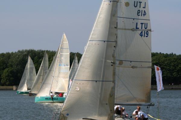 """""""Kuršių marių"""" regata: rusai neįsileido buriuotojų"""