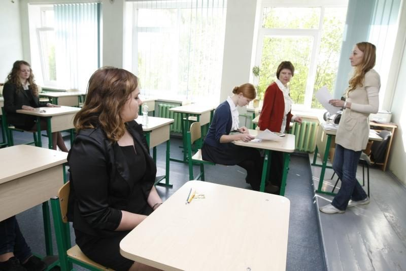 Pirmasis egzaminas Klaipėdoje – be kliūčių