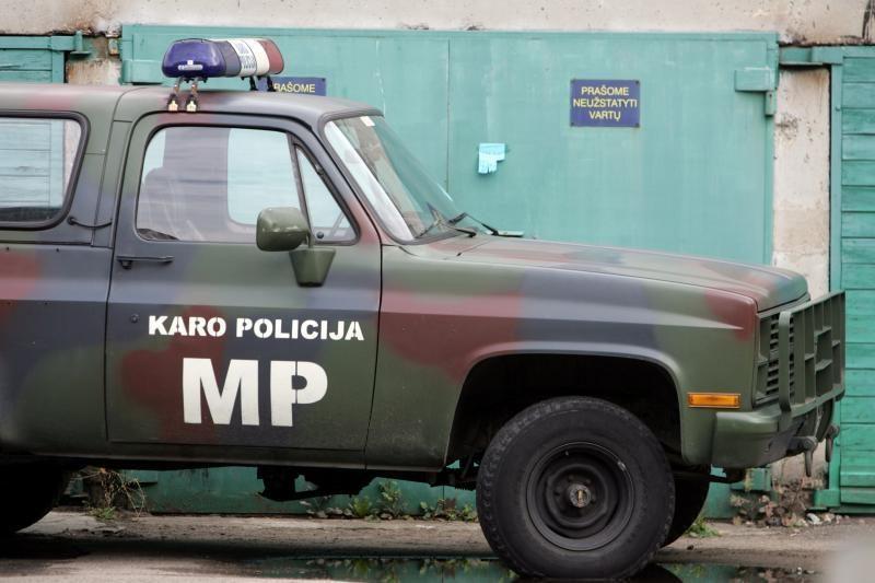 Tarnybos  metu mirė karo policininkas