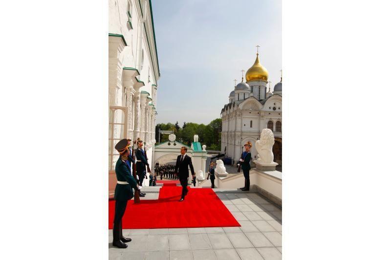 Vladimiras Putinas vėl tapo Rusijos prezidentu