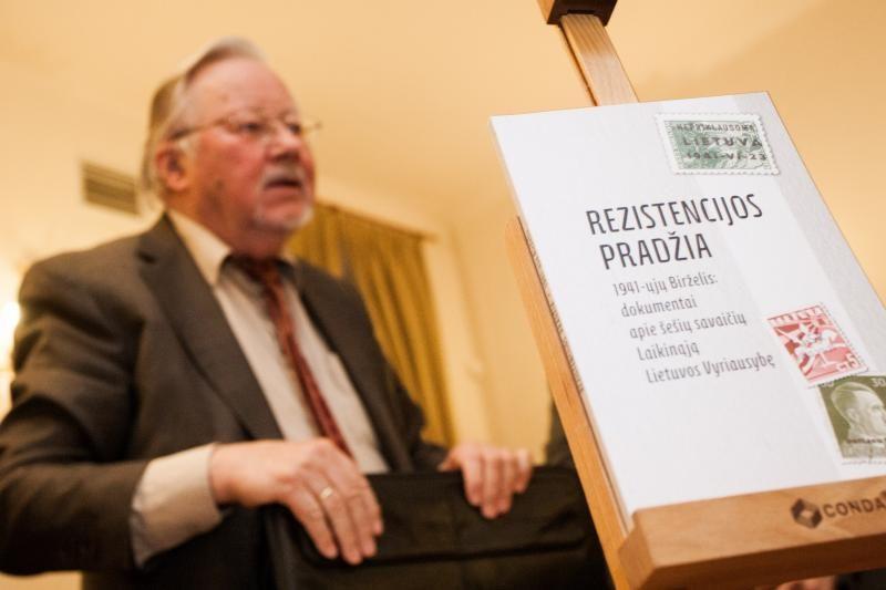 V.Landsbergis nori atremti primestas klišes apie 1941-ųjų Vyriausybę