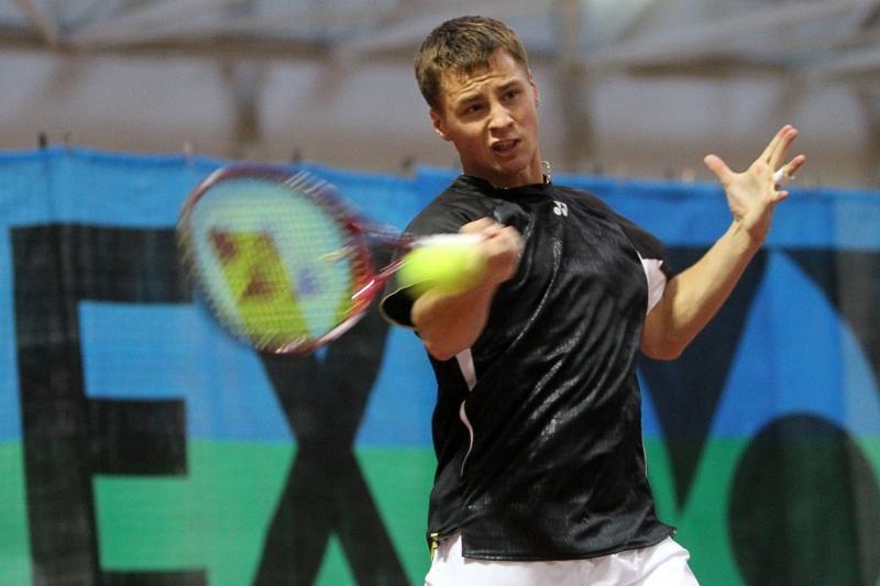 """R.Berankis nepateko į """"Challenger"""" teniso turnyro finalą"""