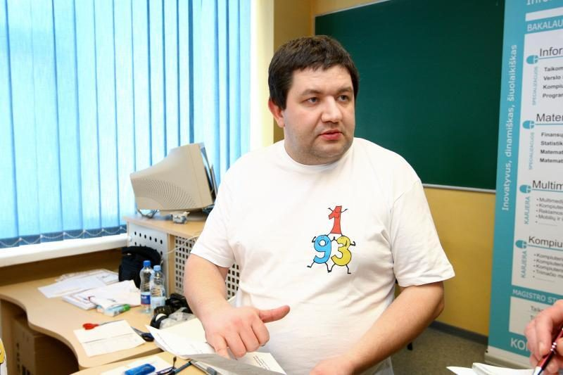 Kaune surengtas mintino skaičiavimo čempionatas
