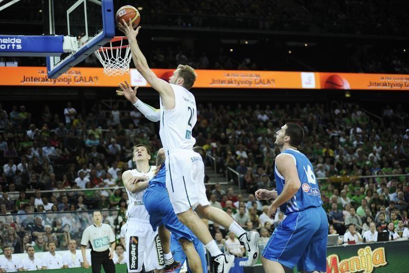 Išlydėtuvių rungtynėse lietuviams nepavyko pavyti graikų