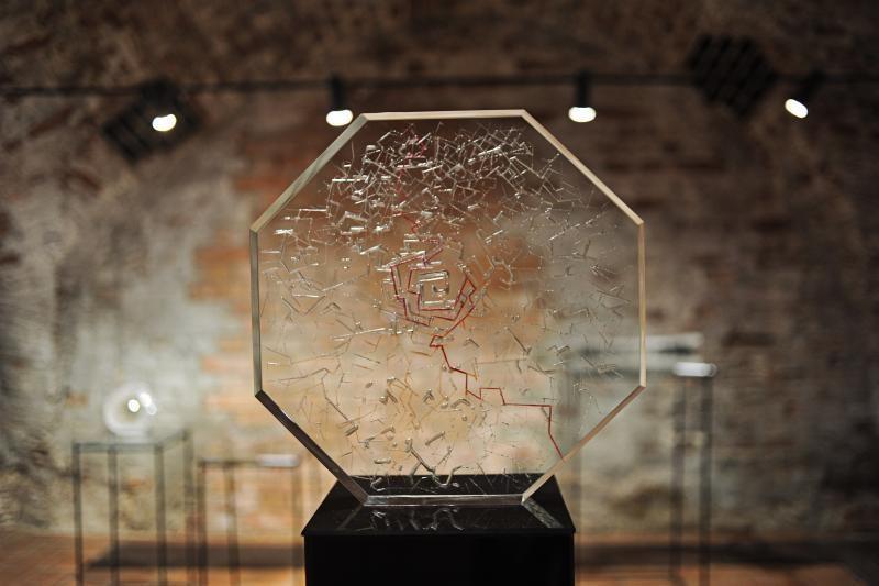 Keramikos muziejuje – geriausi studentų darbai iš stiklo