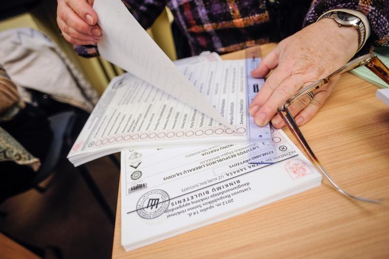 Trečiadienį Kaune iš anksto balsavo per tūkstantį rinkėjų