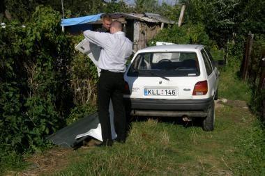 Svetimoje mašinoje rastas klaipėdiečio kūnas