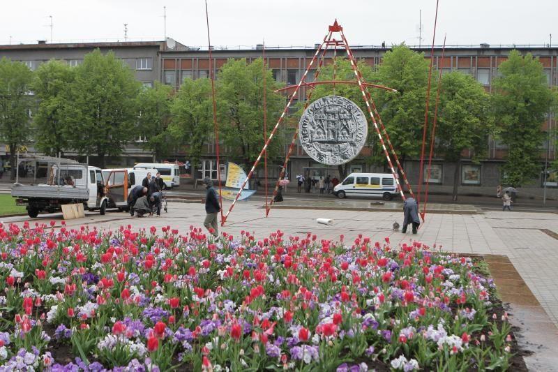 Klaipėdos 760 gimtadieniui - teatralizuotas šventinių renginių startas