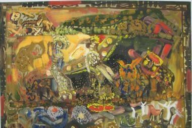 Į kelionę – V.Pinkevičiaus tapybos labirintais