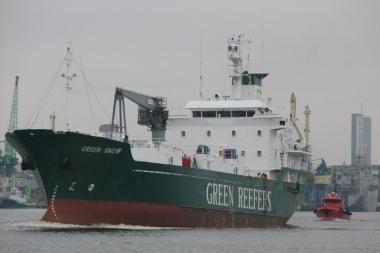 Klaipėdos uoste degė laivas