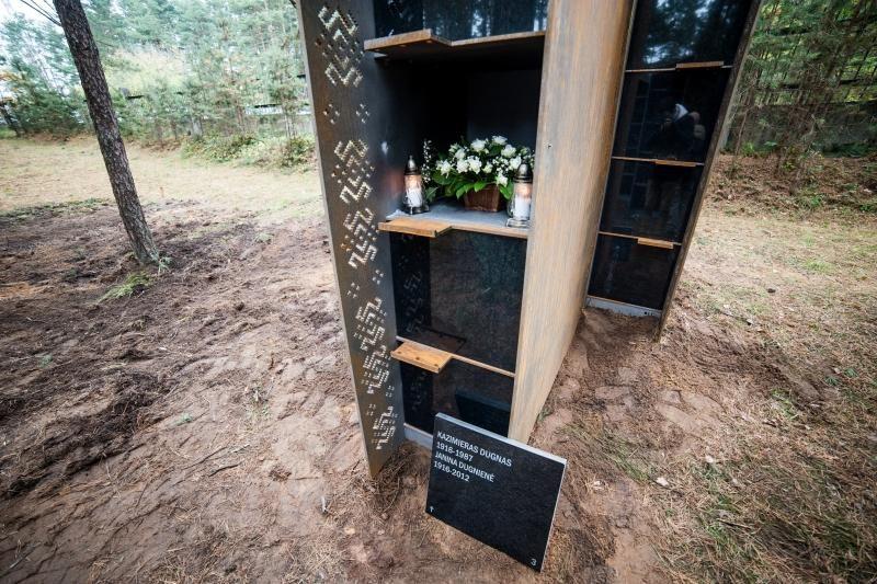 Kolumbariumai Petrašiūnų kapinėse: vieni šaiposi, kiti giriasi