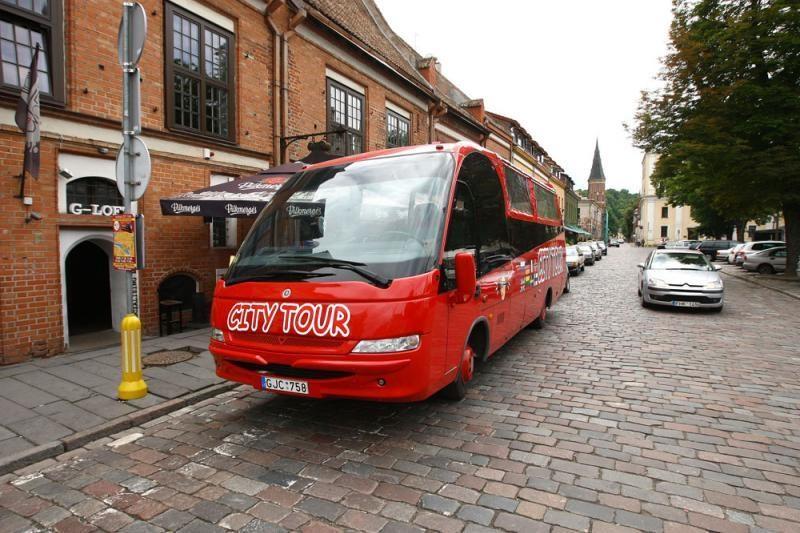 Pažintis su Kaunu – važiuojant autobusu